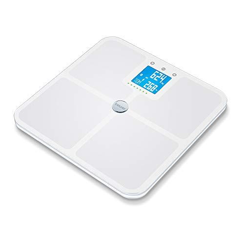 Beurer BF 950 Bilancia Diagnostica con Connettività Bluetooth e Portata 180 kg, Bianco