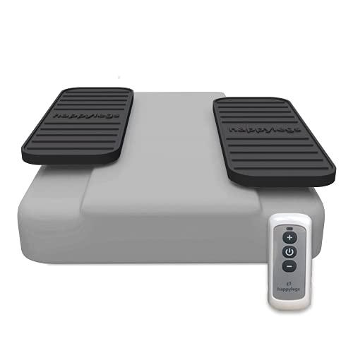 happylegs Silver Plus – Esercizi per Ginnastica passiva Gambe con Telecomando Wireless   +25% velocità   La Macchina per Camminare seduti Riabilitazione   Migliora la circolazione sanguigna.