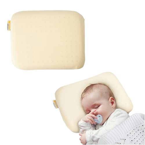 Cuscino Neonato Anti-Spostamento per la Plagiocefalia Sfoderabile in Memory Foam - Boquerias