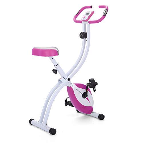 Ultrasport - Cyclette F-Bike 150 da casa, senza schienale, colore: rosa