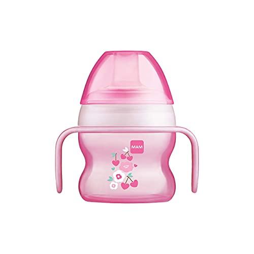Istruzioni in lingua straniera - MAM Babyartikel 67018322 - Tazza antigoccia per bambina, 150 ml