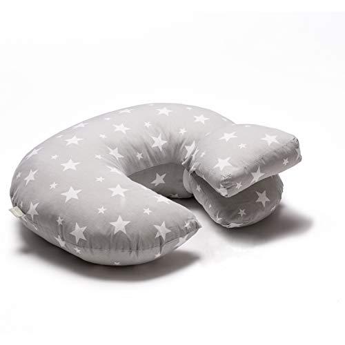 Lilly and Ben® Cuscino per Allattamento - Cotone BIO OEKO-TEX® - Cuscini Allattamento - Cuscino Allattamento Baby