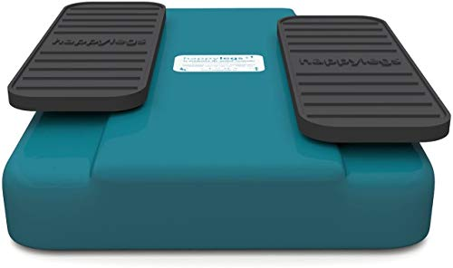 happylegs - Ginnastica passiva per Le Gambe e Gli Anziani. La Macchina per Camminare di seduti. Ideale per la Riabilitazione. Aiuta a Migliorare e stimolare la circolazione di Gambe. (Blu)