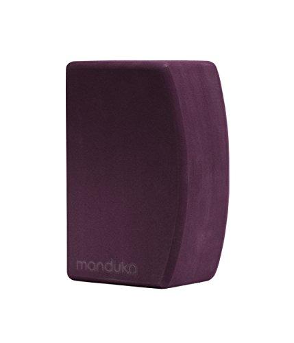 Manduka, Blocco per Yoga & Esercizi, Unisex, Cork Block, Cork, 9''L x 6''H x 4''D