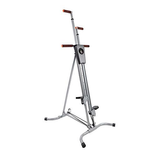 GOTOTOP - Scalatore verticale pieghevole regolabile con monitor digitale per casa, palestra, esercizio cardio allenamento macchina scale stepper