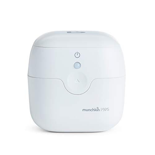 Munchkin - Mini sterilizzatore portatile a raggi UV, disinfettante, uccide oltre il 99% di batteri e virus in 59 secondi
