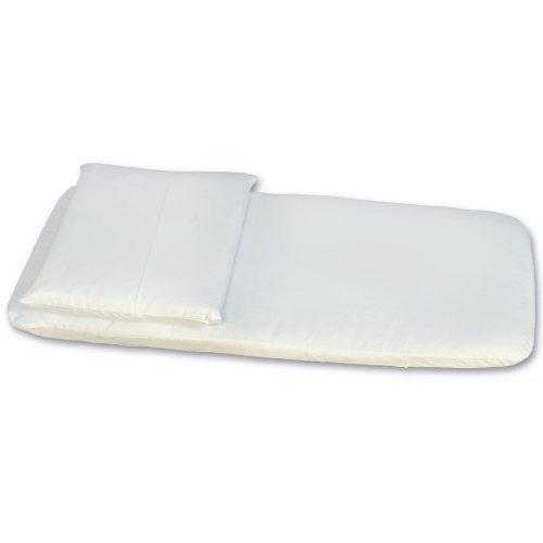 completo antisoffoco materassino e cuscino per carrozzina