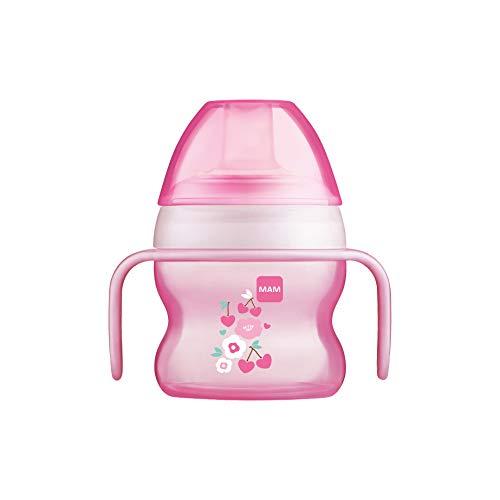 MAM Babyartikel 67018322 - Tazza antigoccia per bambina, 150 ml – Istruzioni in lingua straniera