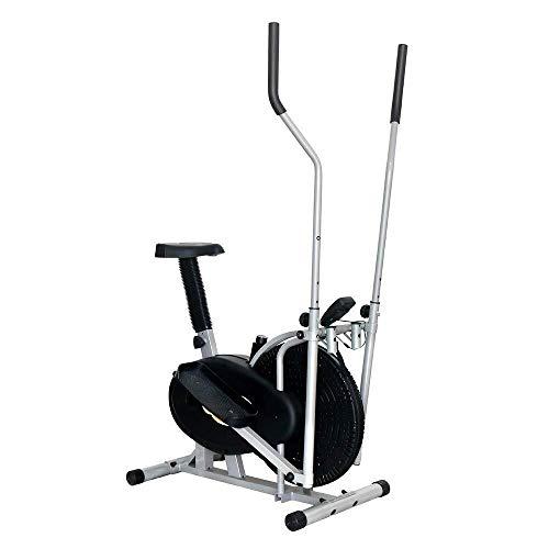 LKK-KK. Cross trainer macchina ellittica Trainer Compact Vita Esercizio Fitness Equipment for la casa Offic magnetica 91x50.5x152.5cm allenamento cardio