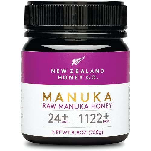 New Zealand Honey Co. Miele di Manuka MGO 1122+ / UMF 24+ | Attivo e lordo | Prodotto in Nuova Zelanda | 250g