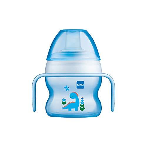 MAM Babyartikel 67018311 - Tazza antigoccia per bambino, 150 ml – Istruzioni in lingua straniera