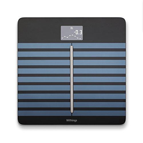 Withings Body Cardio - Bilancia Connessa che misura la composizione corporea, Nero