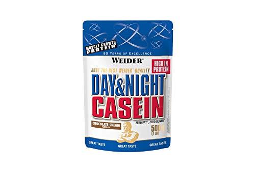 Weider Day & Night Proteine della Caseina, Sapore Cioccolato - 500 Gr