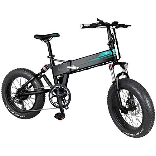 FIIDO M1 Pro Bicicletta elettrica pieghevole, 20' 130 KM, lunga distanza 500 W, motore brushless, in lega di alluminio, leggera, portatile, batteria al litio, pneumatici spessi, 48 V, 13 Ah