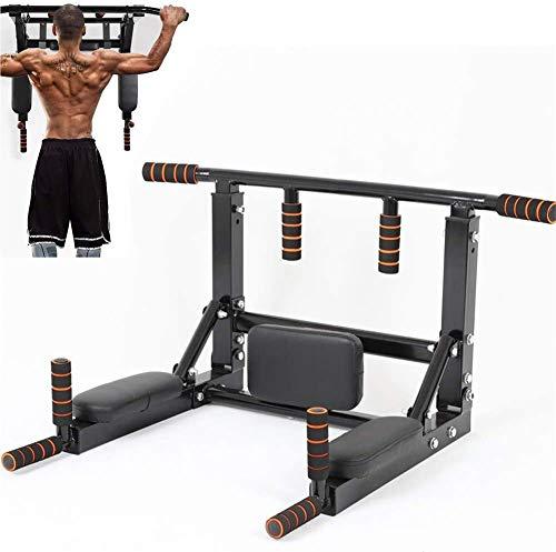 Sbarra Barra Trazioni 7 in 1 a Muro Multifunzione, Pull-up Bar trainer multifunzione per Allenamento Addominali Workout Barra Pull-Up per l'allenamento di Crossfit a casa Multifunzione, Con Viti