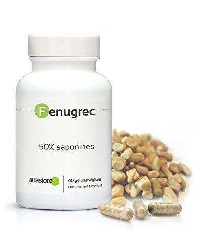 FIENO GRECO * 500 mg / 60 capsule * Titolato al 50% in saponine * Antinfiammatorio, Carenze, Peso, Rendimento Sportivo
