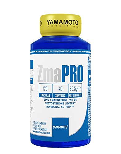 Yamamoto Nutrition ZmaPRO integratore alimentare a base di zinco, magnesio e vitamina B6 120 capsule