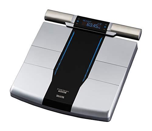 Tanita RD-545 Bilancia per analisi corporea a doppia reattanza intelligente con trasmissione dati Bluetooth. Grasso, massa muscolare e qualità per segmento corporeo