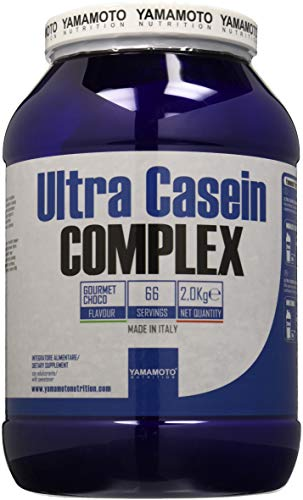 Yamamoto Nutrition Ultra Casein COMPLEX integratore alimentare a base di caseina del latte con vitamina B6 gusto Cioccolato 2Kg