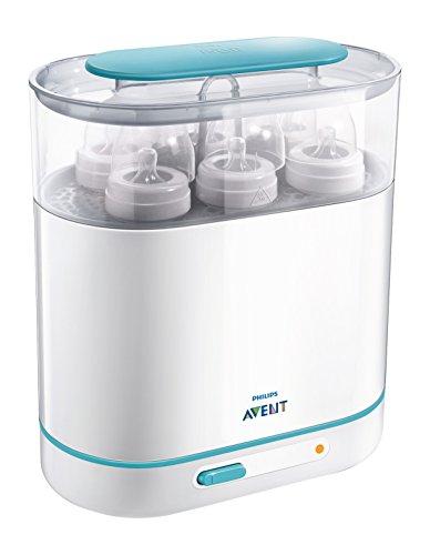 Philips Avent SCF284/02 Sterilizzatore 3 in 1 Elettrico a Vapore, Bianco