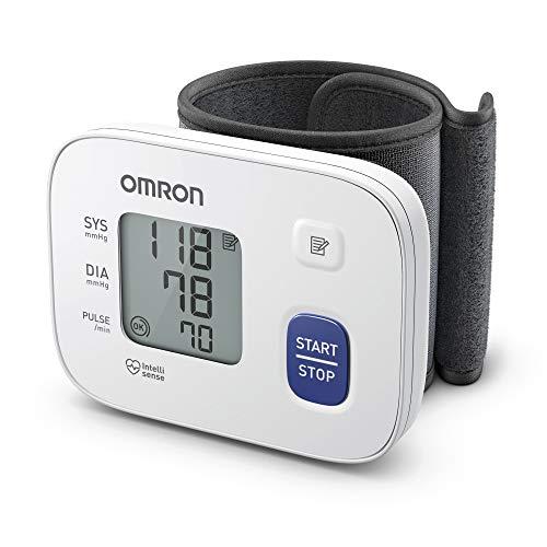 OMRON RS1 Misuratore di Pressione Arteriosa da Polso - Apparecchio Portatile per Misurare la Pressione e il Monitoraggio Domestico dell'Ipertensione, si adatta a qualsiasi Corporatura