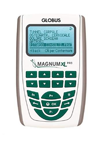Globus G3956 Magnum XL Pro Magnetoterapia Apparecchi Professionali a Bassa Frequenza, Con 2 Solenoidi Soft ,500 Gauss, Effetto Analgesico, Unisex