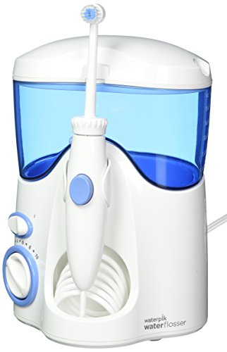 Waterpik WP100 Ultra Dental Water Jet Idropulsore per la Famiglia, blu/bianco