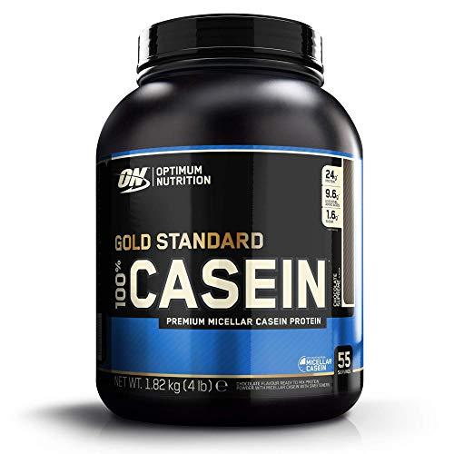 Optimum Nutrition 100% Gold Standard Casein, Proteine in Polvere di Caseina Micellare a Lento Rilascio con Glutammina e Aminoacidi, Supreme Cioccolato, 1.82 kg, 53 Porzioni, L'imballaggio può variare