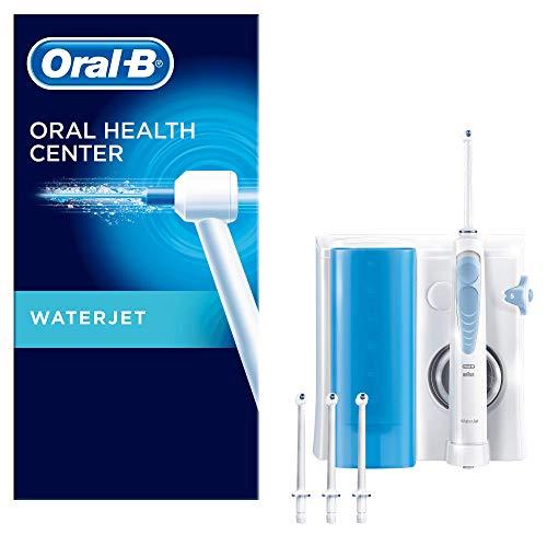 Oral-B Waterjet Sistema Pulente con Idropulsore e 4 Testine Waterjet, Pressione regolabile, Versione Vecchia