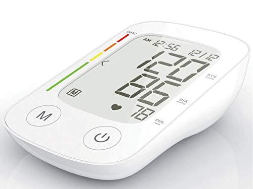 Gima - Misuratore di Pressione Digitale da Braccio Jolly, Misura la Pressione Sanguigna Sistolica e Diastolica e la Frequenza del Battito, per Uso Professionale o Domestico