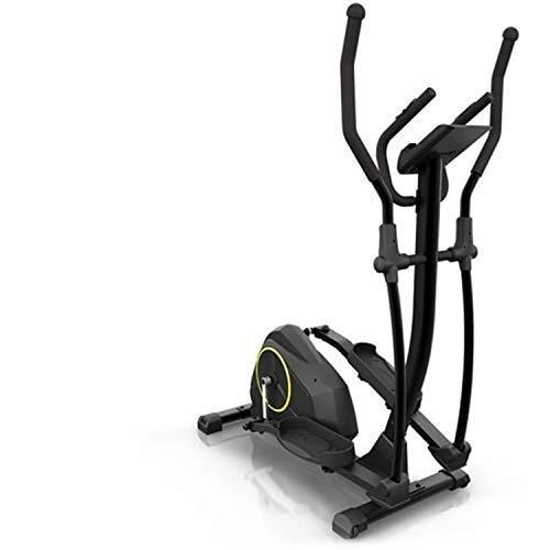 Klarfit Epsylon Cross AS Crosstrainer - Crosswalker, Volano 12 kg, 24 Gradini, Cardiofrequenzimetro, Supporto per Tablet, Max. 120 kg, Nero