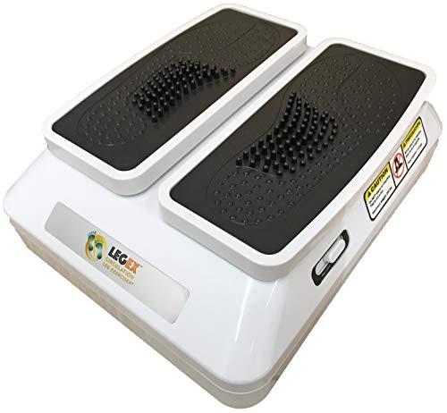 Esercitatore di gambe a circolazione, LegEx pro, esercitatore passivo di gambe con telecomando senza fili e 3 velocità