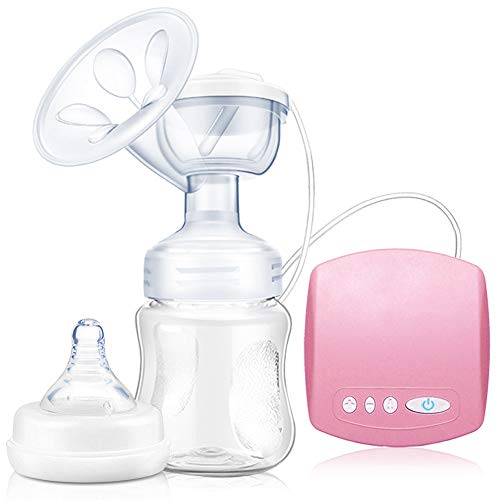 SunTop Tiralatte Elettrico, Portatile con Funzione Massaggio e Memoria, Senza BPA,Tiralatte Elettrico con Cuscinetti Massaggianti, Silenzioso e Ricaricabile Tramite USB