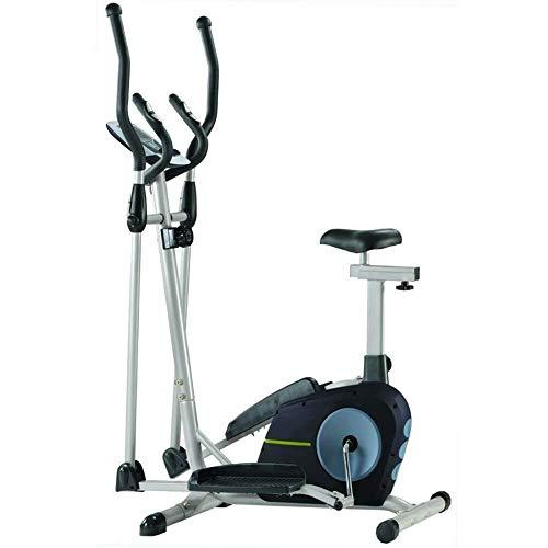 LKK-KK. Allenamento cross trainer macchina ellittica Cardio Fitness Training Machine Control Ellittica con monitor LCD magnetica 105x61x158cm allenamento cardio