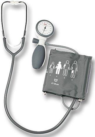 Sfigmomanometro ERKA Switchtest 2.0 con stetoscopio e bracciale con velcro
