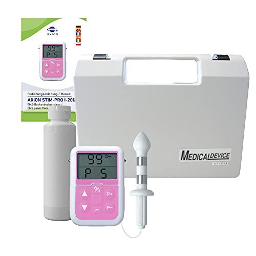 Set completo con sonda anale STIM-Pro 13 per uomo- ideale per l´allenamento dei muscoli del pavimento pelvico con elettrostimolatore EMS - qualità axion