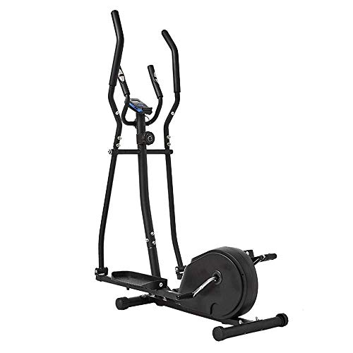 LKK-KK. Cross trainer macchina ellittica Cross Trainer 2 in 1 Cyclette Cardio Fitness Home Gym Equipmen magnetica Cardio Workout 156x80x47cm