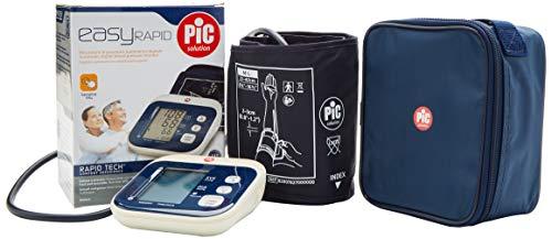 Pic Solution Misuratore Pressione Easyrapid Sfigmomanometro, Bianco e Blu