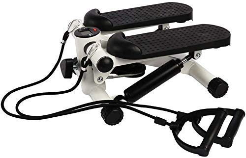Best Goods Up-Down Stepper Mini Fitness Machine con Home Fitness Training Swing Stepper (Black)