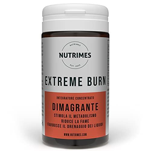 EXTREME BURN / Integratore DIMAGRANTE da utilizzare per stimolare il metabolismo, ridurre la fame e favorire il drenaggio dei liquidi in eccesso / NUTRIMES