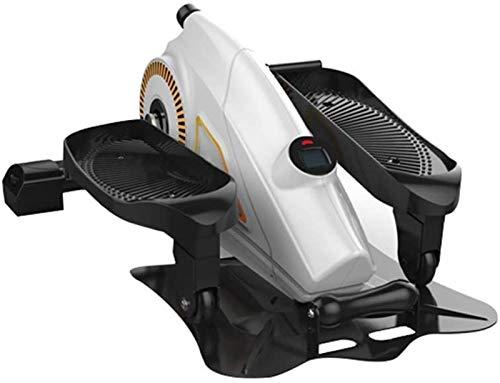 Ellittiche Mini Cyclette, Mini Elliptical Cross Trainer Macchine Stride Trainer Compact Pedal ginnico for la salute fitness nella vita quotidiana e in casa movimento in ufficio sotto ogni BBJOZ Steppe