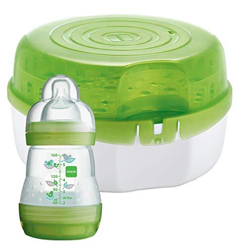 Mam Sterilizzatore per Microonde, Diametro: 28 cm / Altezza: 16,5 cm, Verde