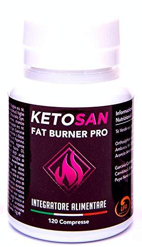 Ketosan® 120 Compresse   PILLOLE DIMAGRANTI   Brucia Grassi Potenti Veloci   Ketosan, l'autentico integratore per la chetogenica   100% Vegan