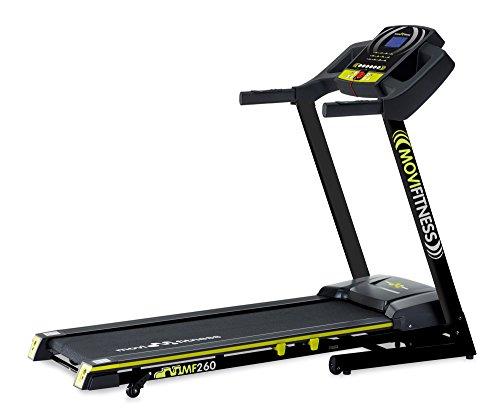 Movi Fitness Tapis Roulant MF260, Elettrico, Pieghevole, Salva Spazio, Professionale, Servizio Assistenza a domicilio