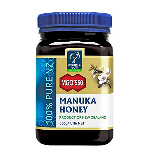 Manuka Health MGO 550+ Miele di Manuka, 500 g