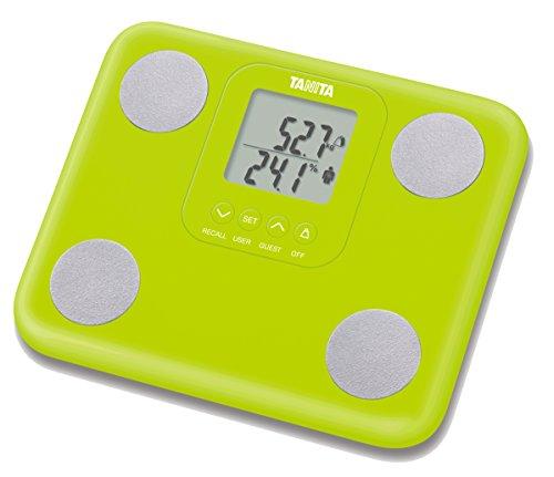 Tanita BC-730 Monitor del grasso corporeo, LCD, Verde
