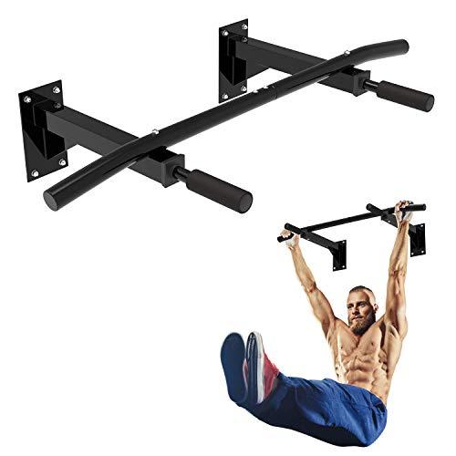 Todeco - Barra Per Flessioni, Barra Pull-Up Fitness - Materiale: Schiuma ad alta densità - Carico massimo: 135 kg - A muro