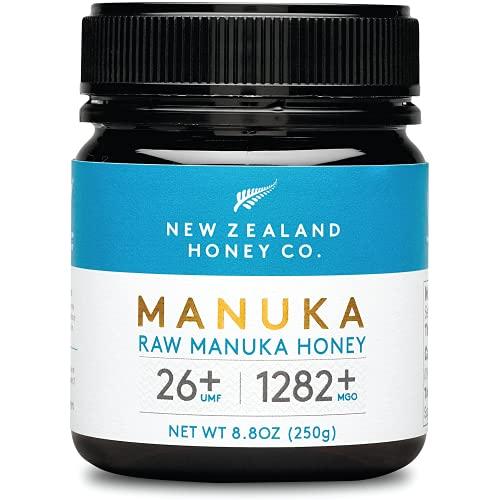 New Zealand Honey Co. Miele di Manuka MGO 1282+ / UMF 26+ | Attivo e lordo | Prodotto in Nuova Zelanda | 250g