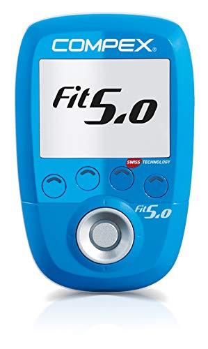 Compex Fit 5.0 Elettrostimolatore, Blu