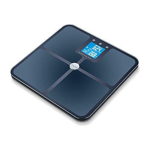Beurer BF 950 Bilancia Diagnostica con Connettività Bluetooth e Portata 180 kg, Nero